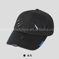 Punk Style Worn Out Baseball Cap