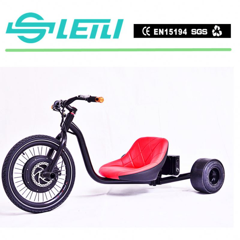 black 2016 New EEC Passager adult 3 wheel electric drift Tricycle trike motor