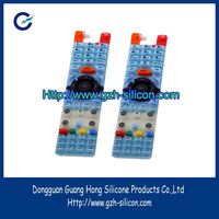 OEM High Grade Flexibility silicone rubber key for Remote