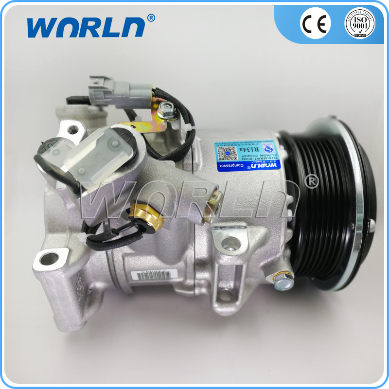 12 Volt Air Conditioning Auto Ac Compressor for Toyota HIACE IV Box/Toyota Hiace Van/BUS (TRH223) 2004- 2.7