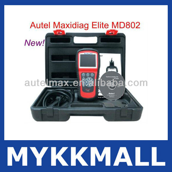Support All Systems Original Autel Maxidiag Elite MD802 Scanner with High Quality