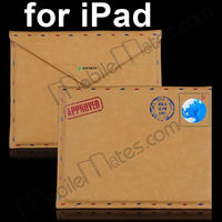Retro Envelope style Leather Case Pouch For iPad 1/iPad 2/New iPad