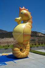 2015 hot selling giant inflatable sea horse, inflatable hippocampi