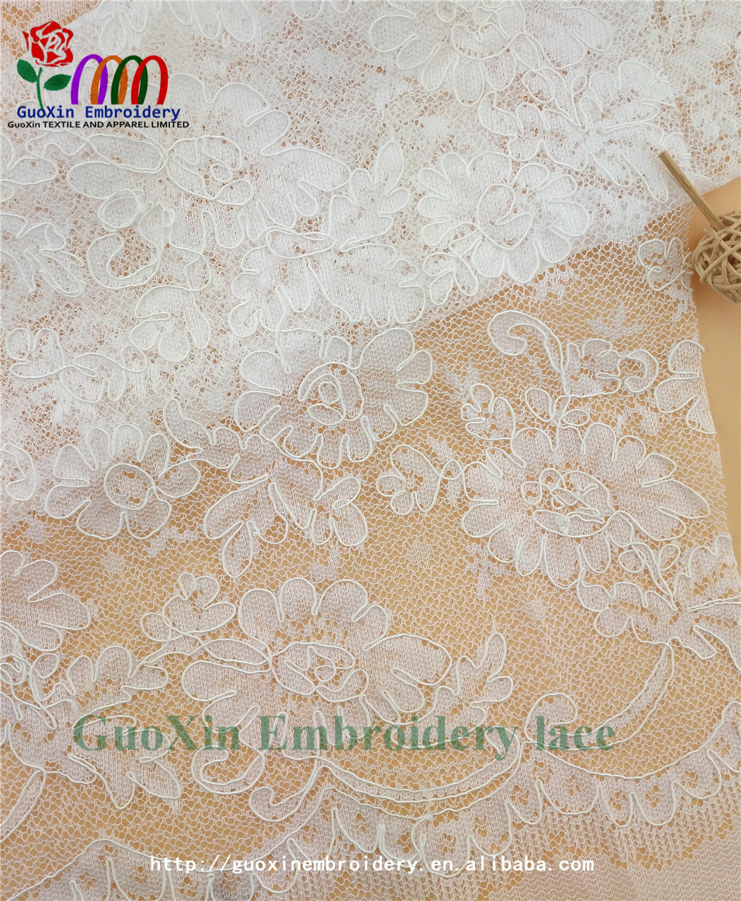 china manufacturer french lace embroidery fabric ivory bridal lace with cording (1).jpg