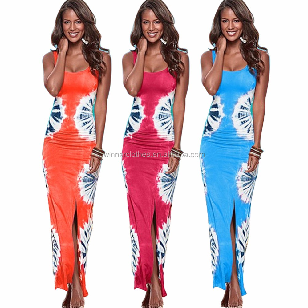 New 2017 Maxi Dress Summer Women Dress Bodycon Beach Dress Plus Size