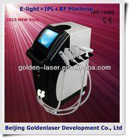 2013 New design E-light+IPL+RF machine tattooing Beauty machine lock tattoo grip