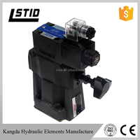 Low noisy BST/BSG/SBSG series Hydraulic pressure electromagnetic Solenoid controlled relief valves