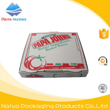 Wholesale Square custom printed Corrugated cardboard Pizza Cartons boxes