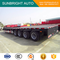 4 Axles 60tons Low Bed Semi