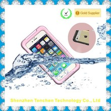 Waterproof Phone Case for Iphone 6 up to 10ft Deep Underwater for 3 Hours, All Wet Conditions (Pink)