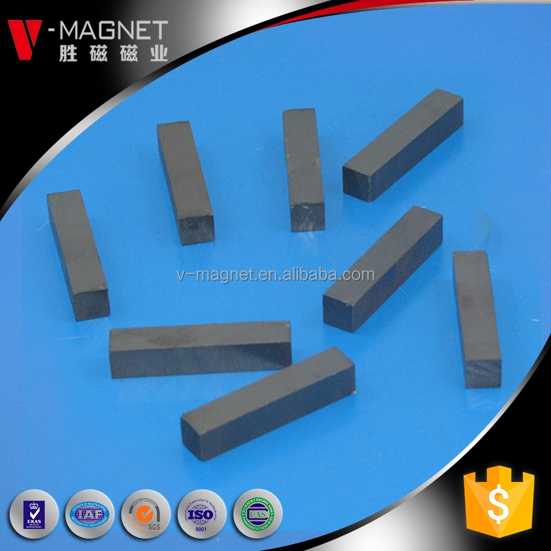 Indoor dc motor ferite magnets