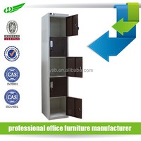 Steel clothes locker / school metal locker / metal storage locker