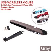 2014 usb pen shaped wireless optical pen mouse 2.4Ghz speed