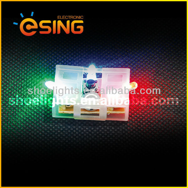 battery operated color changing led shoes lights