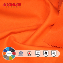 fire resistant waterproof fabric for protective/safety clothing/garments