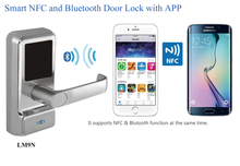 Electronic NFC Hotel Card Reader Door Lock (HF-LM9N)