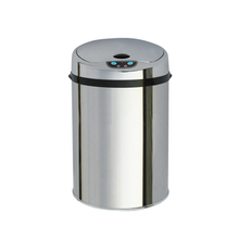 9L Stainless Steel Bin,Decorative Trash Can,Advertising Trash Can