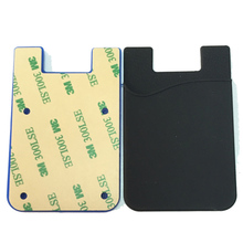 Hot Selling Cheap Promtion Customized Silicone Mobile Phone Card Holder For Gifts