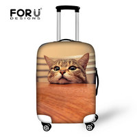 3D luggage cover,animal luggage cover,cat luggage cover