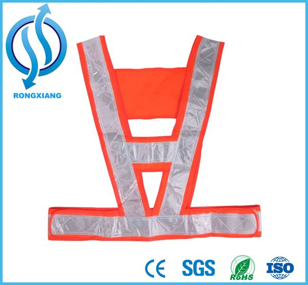 Best Sale Red/Yellow High Visibility Reflective Vest Conspicuity Warning Reflective