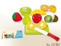 Plastic Fruit and Vegetable Slice Toys,Happy House Chlidren Toys cutting vegetables toy