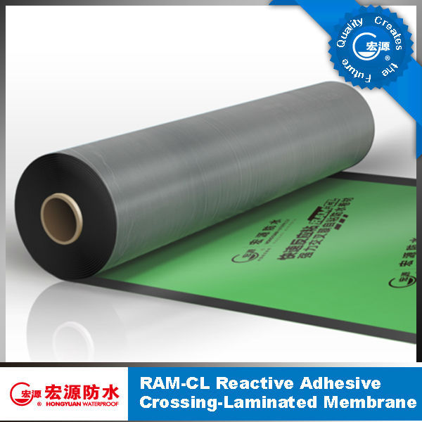 Self adhesive bitumen waterproof membrane/Self adhesive waterproof membrane/Roof waterproof membrane