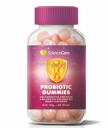 Probiotic gummy candy