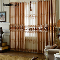 Hood Brand polyester window curtain with 2.7M height