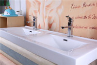 Cheap Modern double sink bathroom furniture