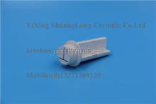 macor machinable glass ceramic One end closed zirconia ceramic tube steatite insulator