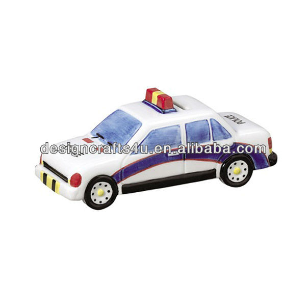 decorative mini police car model