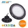 China wholesale high beam angle black cover 120w UFO LED High Bay Light