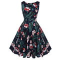 Best Price Fashion Design Women Umbrella Print Dress Direct Factory