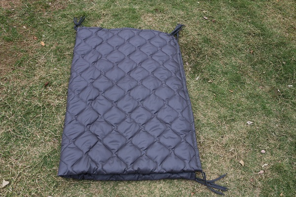 Grey Color  Military Grade Poncho Liner  All Weather Marpat Baby Blanket Woobie with Carry Bag