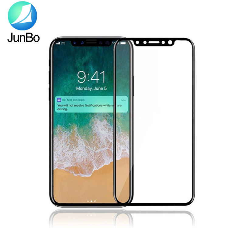 3D curved tempered glass screen protector for iphone X tempered glass for iphone X