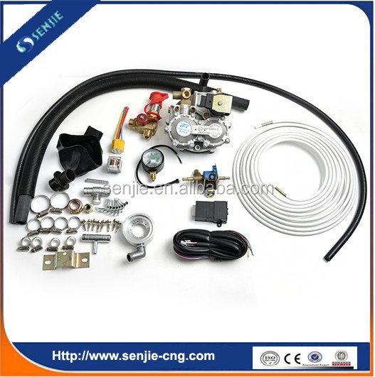 CNG Aspirated System Conversion kits for EFI and carburetor Petrol Cars