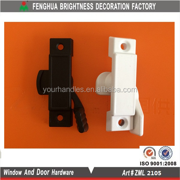Injection Window Sweep Lock for Vertical or Horizontal Sliding Windows sash lock
