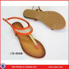 2013 Summer New Style Fashion Flat Ladies Sandals