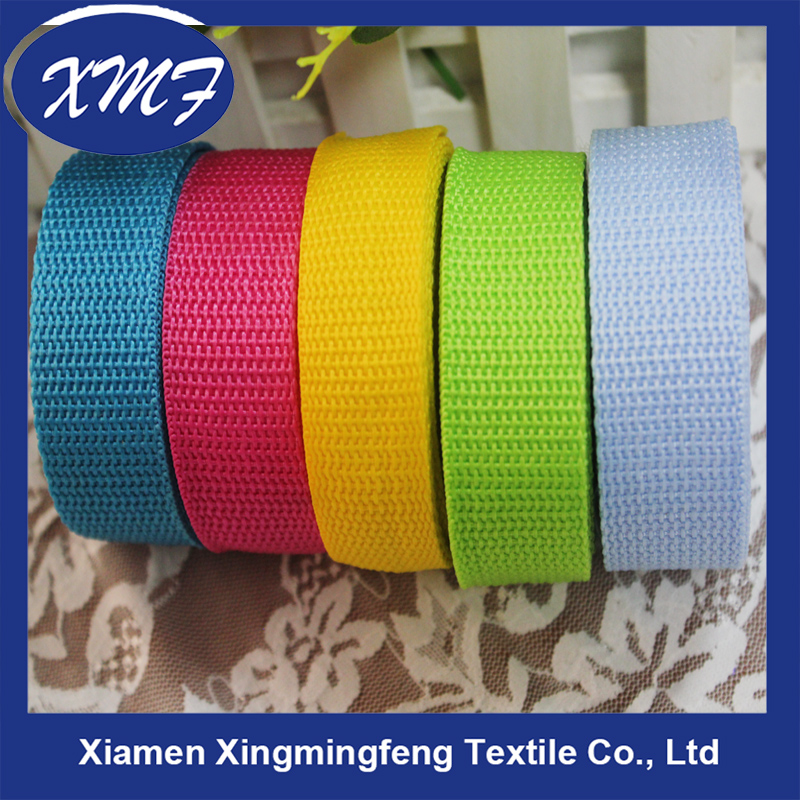 pp webbing for luggage band manufacturer customized design