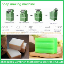 Soap cutting soap stamping machine for laundry soap making