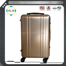 Aluminum trolley suitcase pilot case