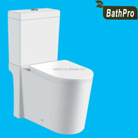 Water-saving washdoan WaterMark approved two piece water closet custom made toilet