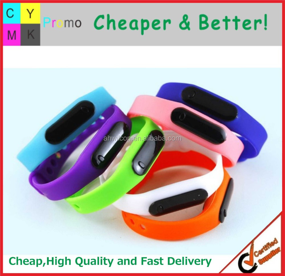 Custom Fashion Sport style LED digital watch, Promotional LED Wristband Watch