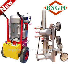SQ-70AM hydraulic wire saw machine for jetties,viaduct,column and beams demolition