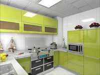 paint particle board carcass kitchen cabinets china manufacturer