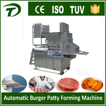 beef patty machine