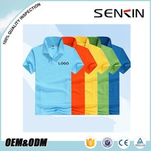Cheap Unisex Breathable Work Uniform Polyester Polo Shirt Made in Bangladesh