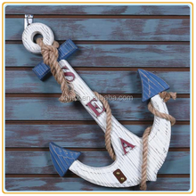 Custom wedding decorations wall hanging resin vessel anchor hook china manufacturer