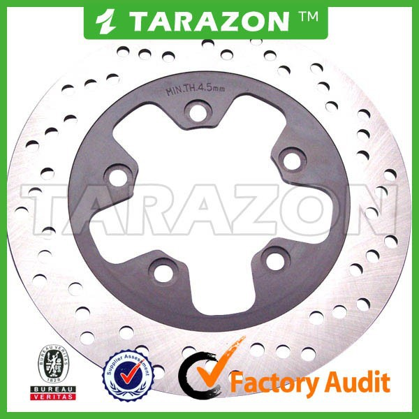 Motorcycle rear brake disc rotor for bajaj pulsar 135LS 150