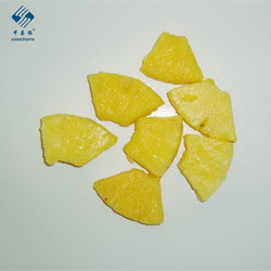 China IQF Pineapple Pineapple Tidbits And Ring